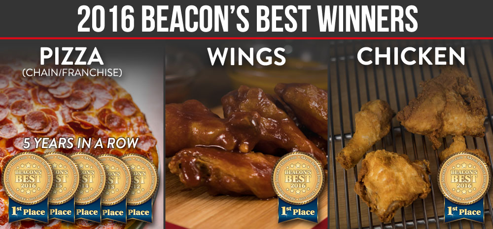 Beacon's Best First Place Winner for Pizza, Wings and Chicken