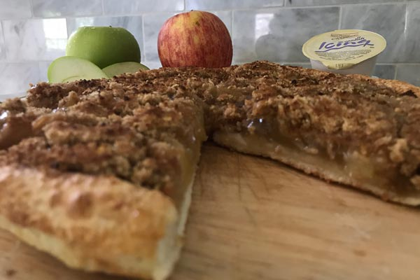 New Cinnamon Apple Crumb Pie